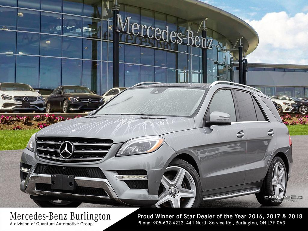 Certified Pre-Owned 2015 Mercedes-Benz ML350 BlueTEC 4MATIC