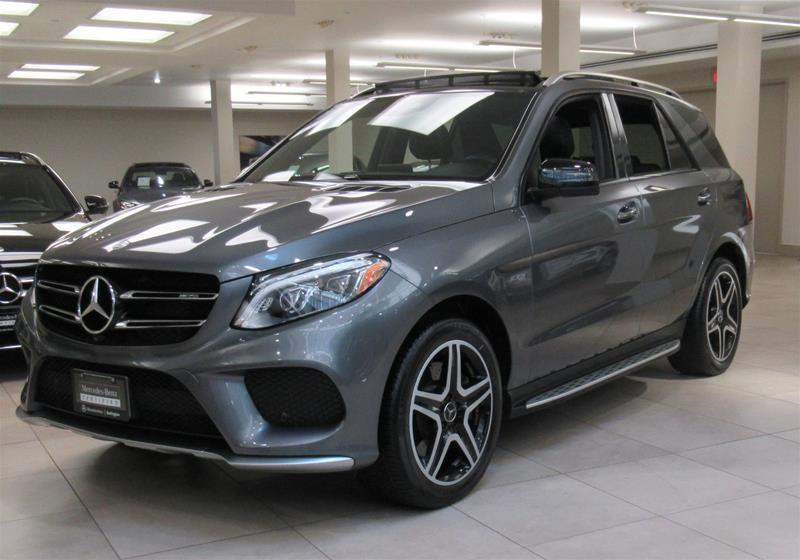 Certified Pre-Owned 2017 Mercedes-Benz GLE43 AMG® 4MATIC®