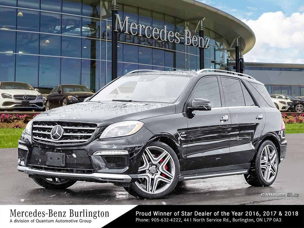 Certified Pre-Owned 2014 Mercedes-Benz ML63 AMG 4MATIC