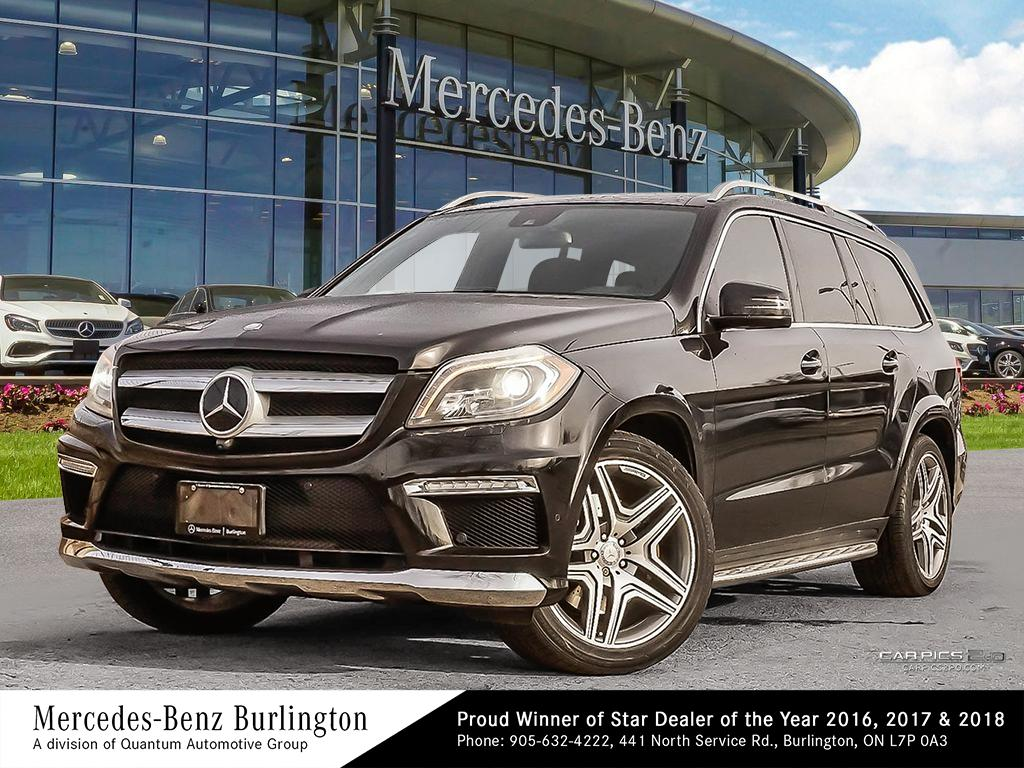 Certified Pre-Owned 2015 Mercedes-Benz GL550 4MATIC
