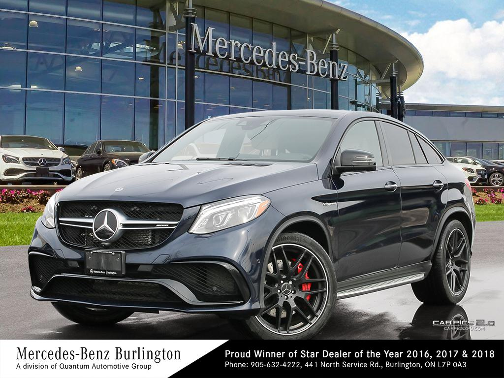 Certified Pre-Owned 2018 Mercedes-Benz GLE63 AMG® S 4M Coupe