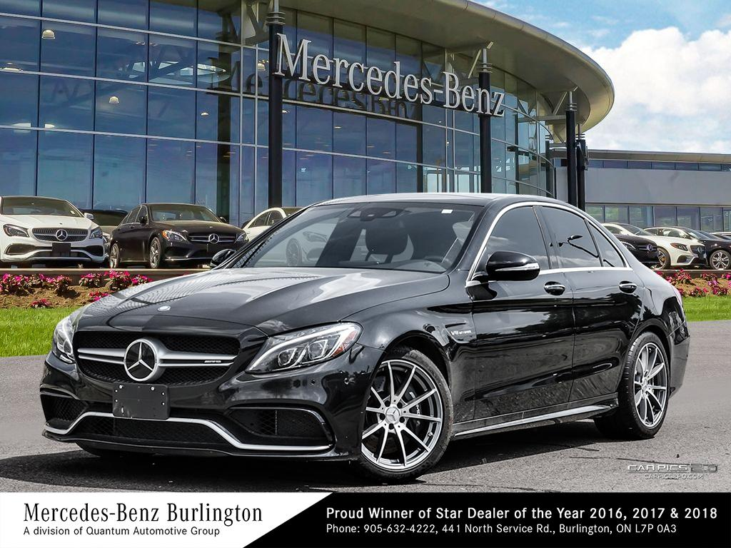 Certified Pre-Owned 2015 Mercedes-Benz C63 AMG® Sedan
