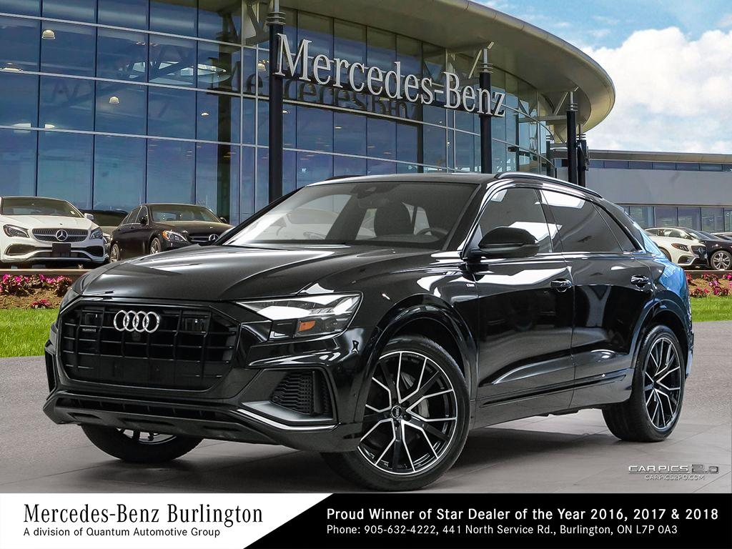 Pre-Owned 2019 Audi Q8 3.0T Technik quattro 8sp Tiptronic