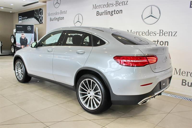 New 2017 mercedes benz glc300 4matic coupe suv in for Mercedes benz glc300 coupe