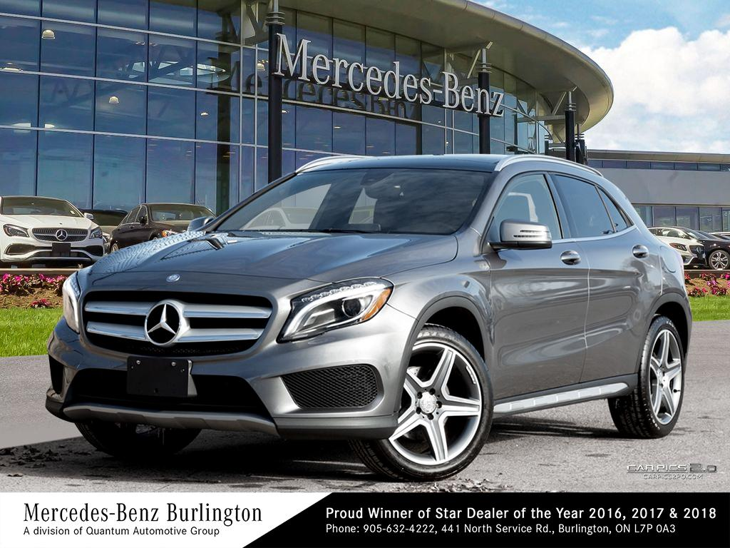 Certified Pre-Owned 2016 Mercedes-Benz GLA250 4MATIC SUV