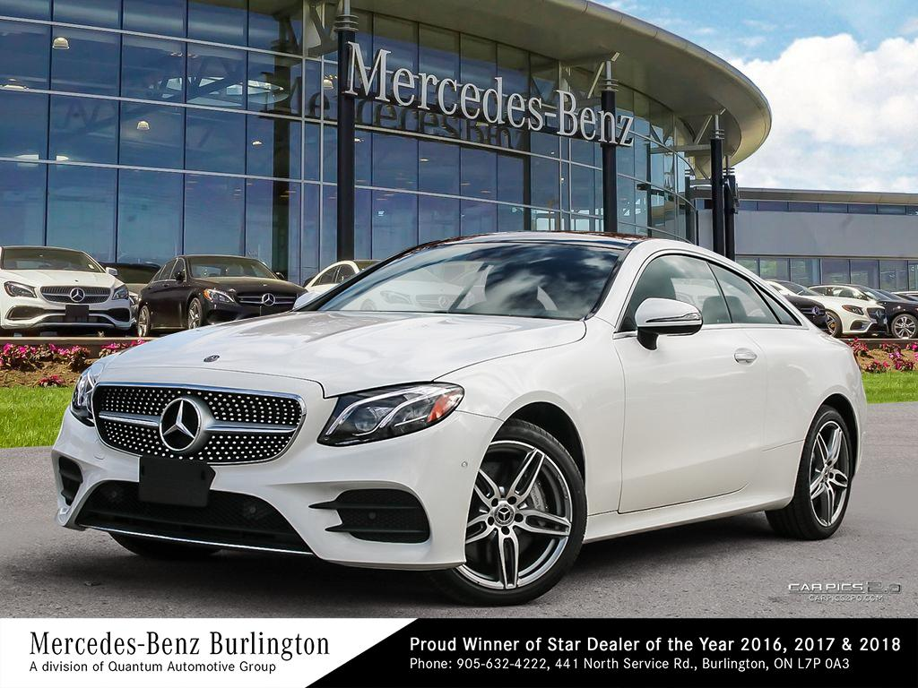 b7711940090b New 2018 Mercedes-Benz E400 4MATIC Coupe 2-Door Coupe in Burlington ...