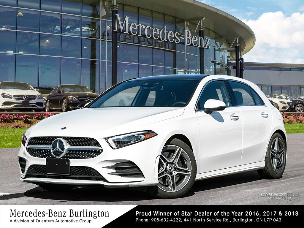 New 2019 Mercedes Benz A250 4matic Hatch