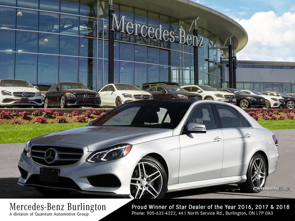 Certified Pre-Owned 2016 Mercedes-Benz E400 4MATIC Sedan