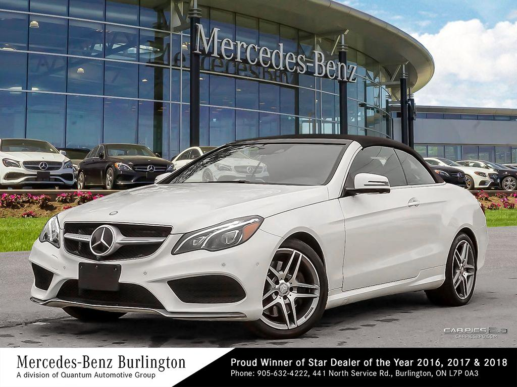 Certified Pre-Owned 2016 Mercedes-Benz E400 Cabriolet