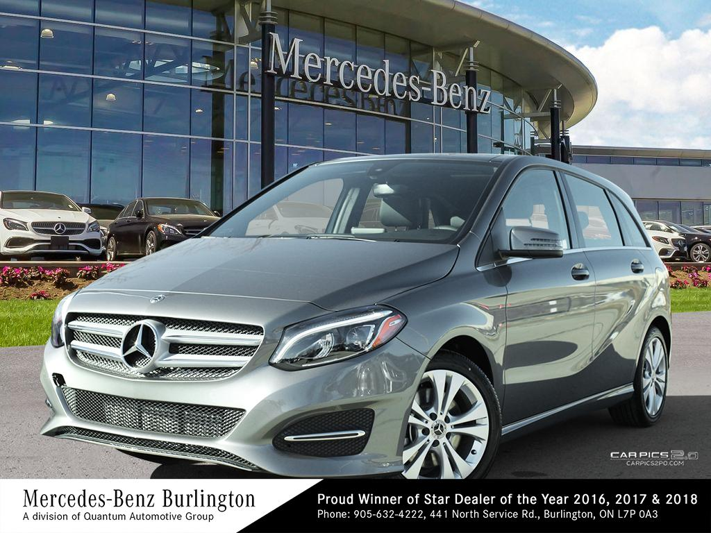 New 2019 Mercedes Benz B250 4matic Sports Tourer 5 Door Hatchback In Burlington 1928905