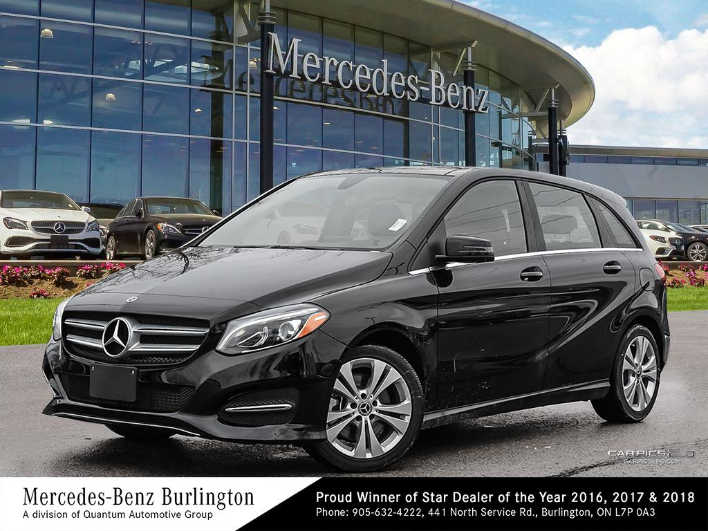 New 2019 Mercedes Benz B250 4matic Sports Tourer 5 Door Hatchback In Burlington 1928436 Demo