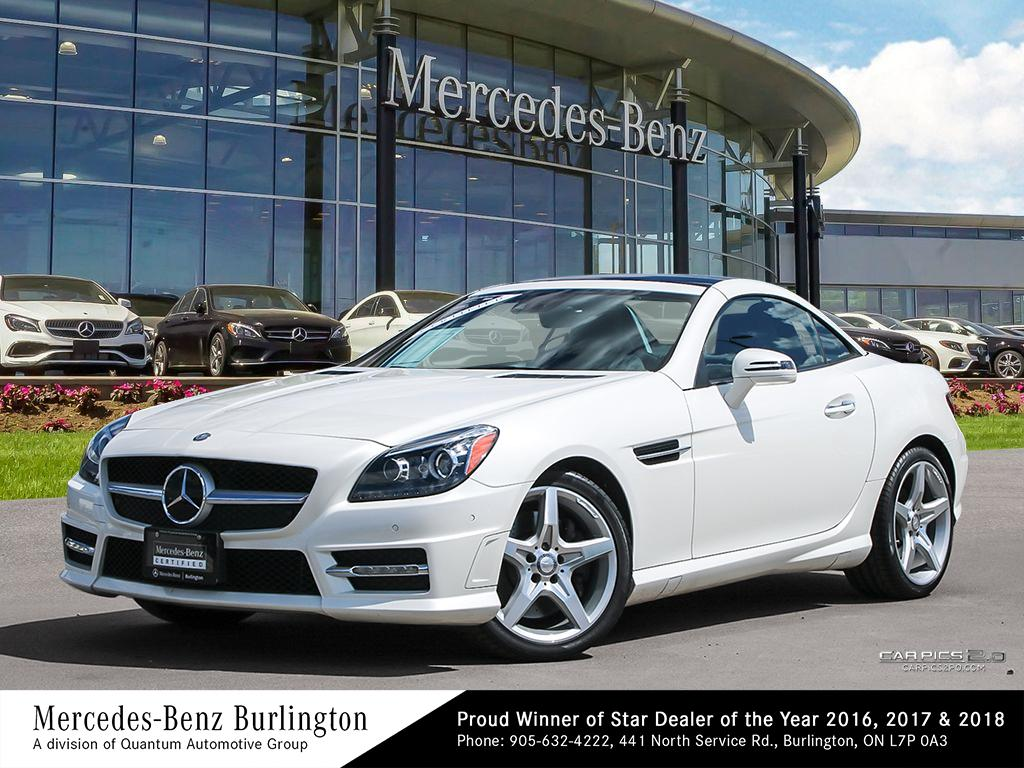 Certified Pre-Owned 2016 Mercedes-Benz SLK350 Roadster