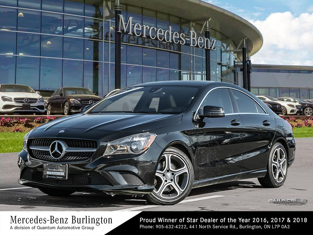 Certified Pre-Owned 2015 Mercedes-Benz CLA250 Coupe