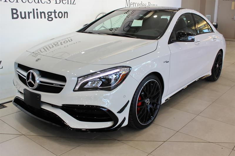 New 2018 Mercedes Benz CLA CLA45 AMG