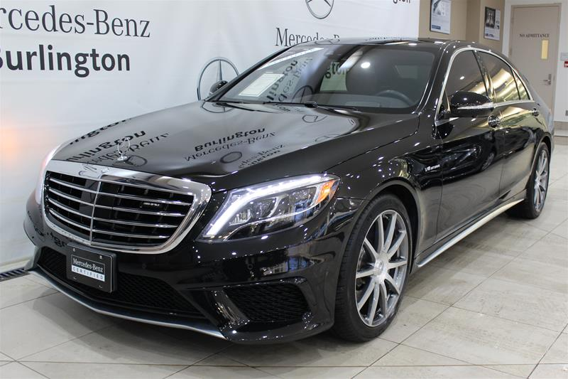 Awesome Certified Pre Owned 2016 Mercedes Benz S Class S63 AMG