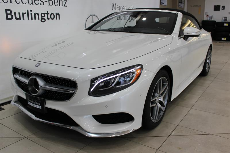 Certified Pre Owned 2017 Mercedes Benz S Cl S550