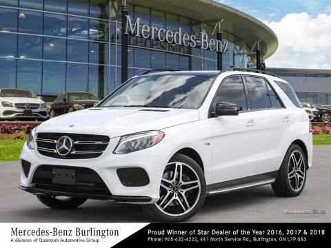 Certified Pre-Owned 2018 Mercedes-Benz GLE43 AMG® 4MATIC SUV