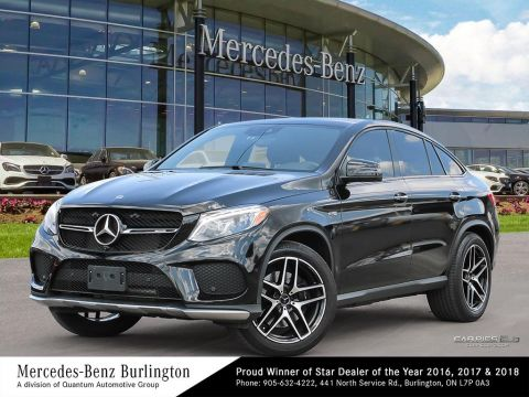 Certified Pre-Owned 2018 Mercedes-Benz GLE43 AMG® 4MATIC Coupe