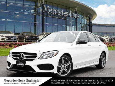Certified Pre-Owned 2016 Mercedes-Benz C300 4MATIC Sedan