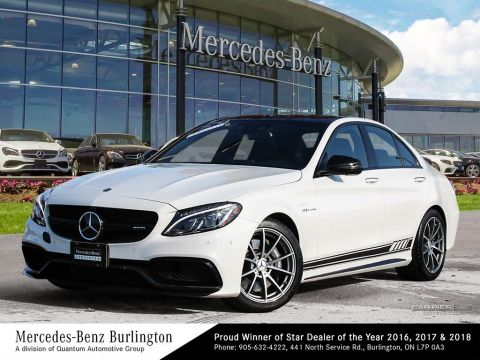 Certified Pre-Owned 2017 Mercedes-Benz C63 AMG® Sedan