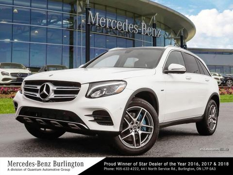 New 2018 Mercedes-Benz GLC350e 4MATIC SUV