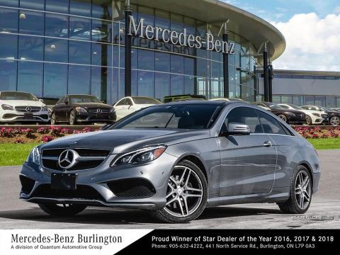 Pre-Owned 2014 Mercedes-Benz E350 4MATIC Coupe