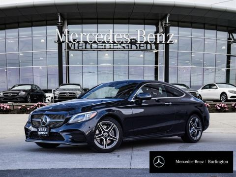 2020 Mercedes-Benz C300 4MATIC Coupe